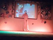 乡村小县城夜总会艳舞团裸舞秀身材还不错的马尾辫舞女各种挑逗看这身手还有两下子1080P超清