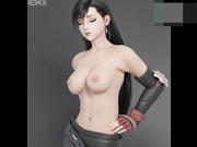 最新国产大神精心制作《最终幻想7》女神『蒂法』精品3D同人啪啪长篇完整版 超高还原 全程步兵