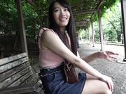 [G-AREA 722] F罩杯笑顔美人的興趣和感受與快樂 - 1of5