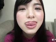 淫蕩口交 21歳 對可愛大學生臉蛋超大量顏射 完全露臉
