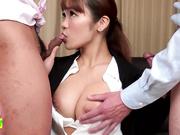 菜鸟新人OL被性骚扰中出(无码)02