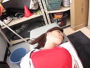 [AOZ-245] 陸上部日焼け少女睡眠薬強姦投稿映像