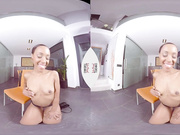 Posh black sister NoeMilk joins VR porn