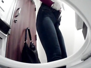 商场坐厕马桶内置高清针孔偷拍逼逼清晰可见毛毛性感