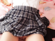 网红美女软萌萝莉 学生制服躺床上自慰 小穴粉粉的 高清720P豪华版